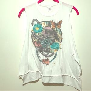 Urban Outfitters Mussel Tee Crop Top